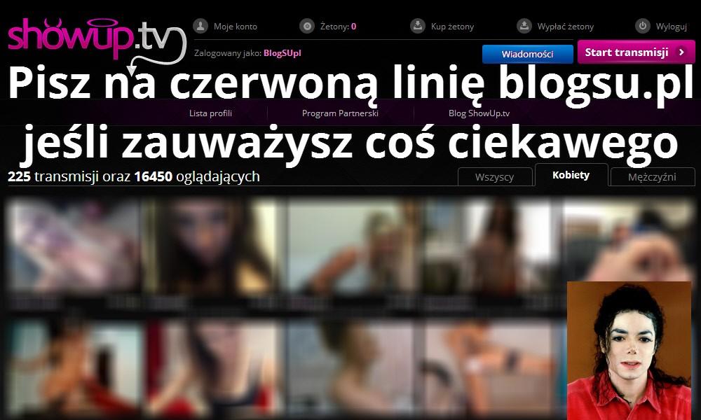 Pisz na czerwoną linię blogsu.pl jeśli zauważysz coś ciekawego