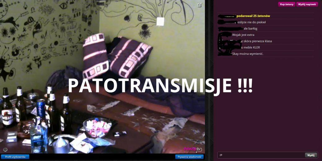 Patotransmisje na ShowUp.tv