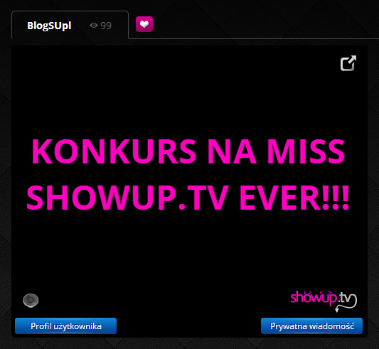 KONKURS NA MISS SHOWUP.TV EVER!!!