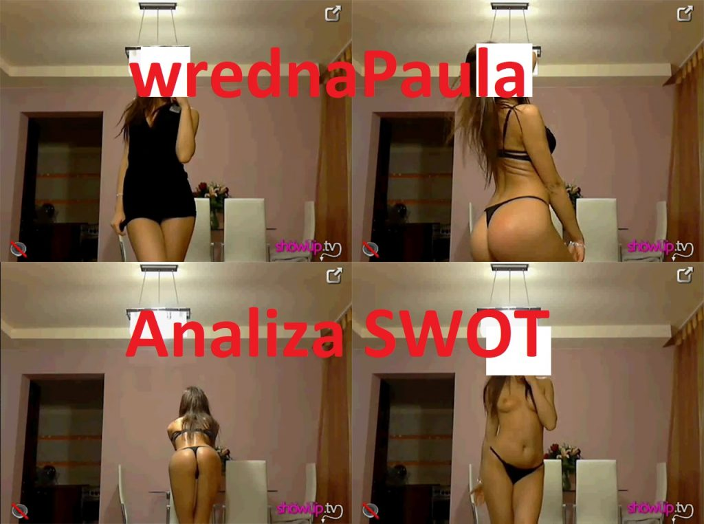 wrednaPaula – analiza SWOT na ShowUp.tv