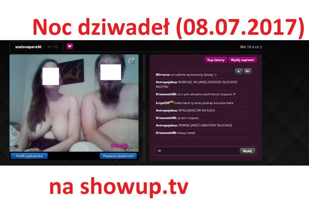 Noc dziwadeł na ShowUp.tv
