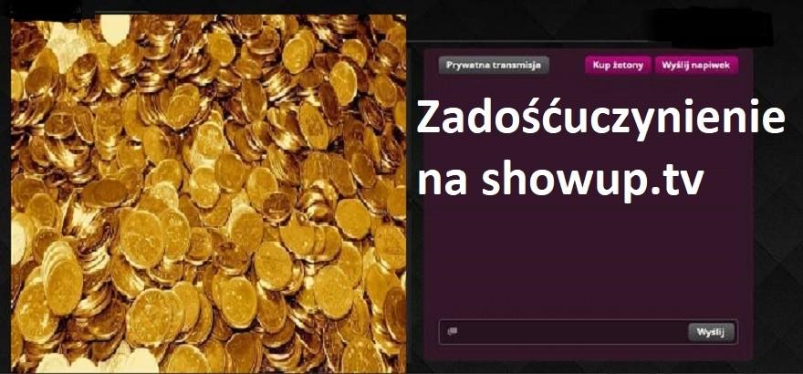Zadośćuczynienie na ShowUp.tv