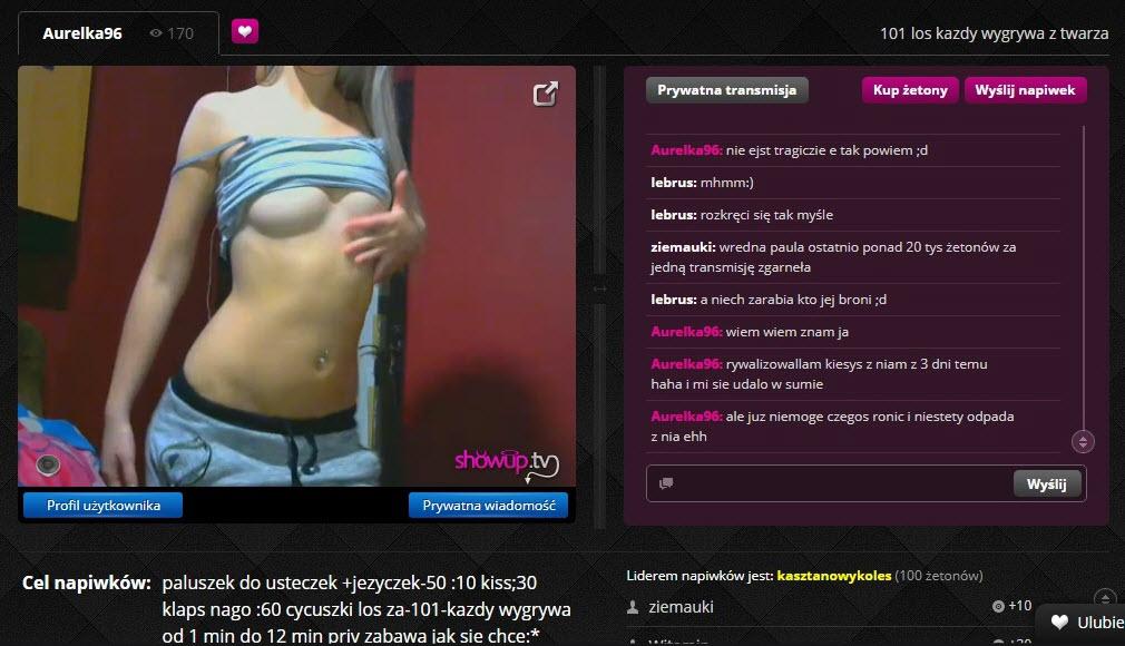 WIELKI powrót Aurelki96 Orgazmotrona vel Bicz na Januszy z ShowUp.tv