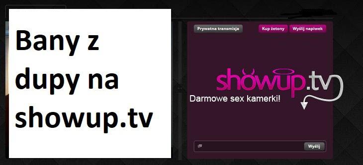 Bany z dupy na ShowUp.tv - darmowe sex kamerki