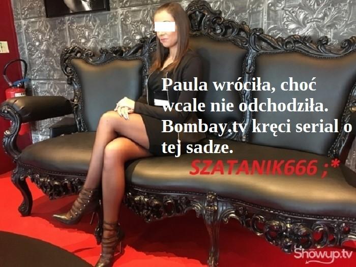 WrednaPaula wróciła na ShowUp.tv choć wcale nie odeszła - PaulaLuxuryEroticShow