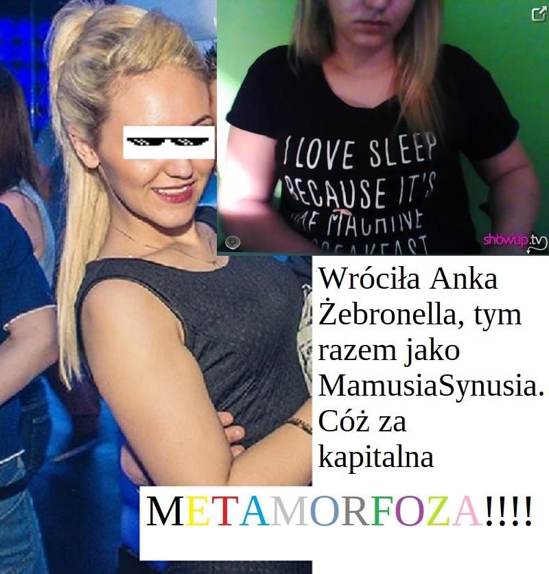 Powrót Anki Żebraczki na ShowUp.tv