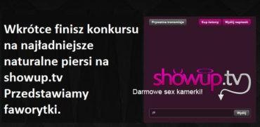 Nagrody dla głosujących oraz dla Modelek z ShowUp.tv