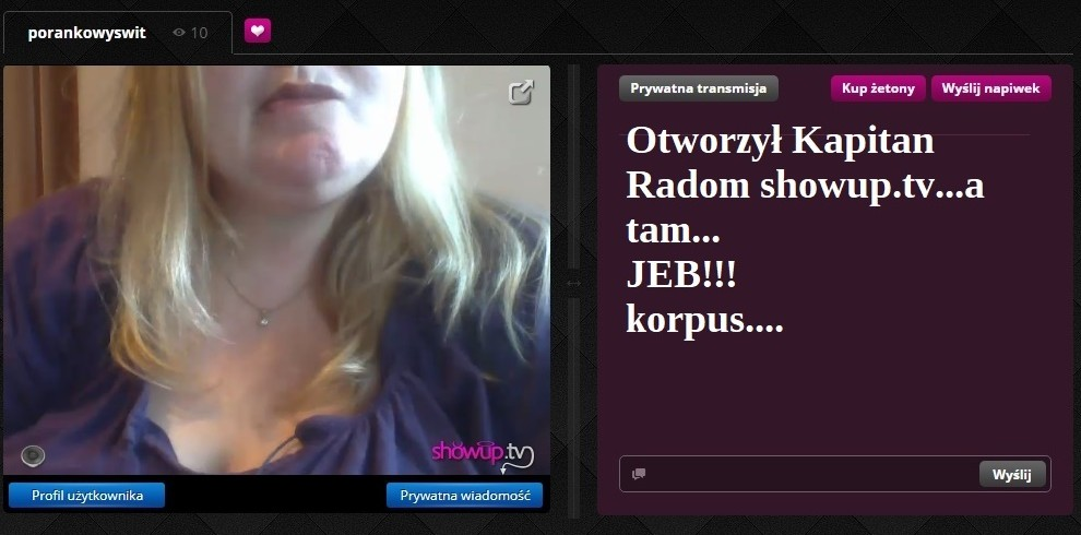 Kapitan Radom i Historia Korpusów na ShowUp.tv 05