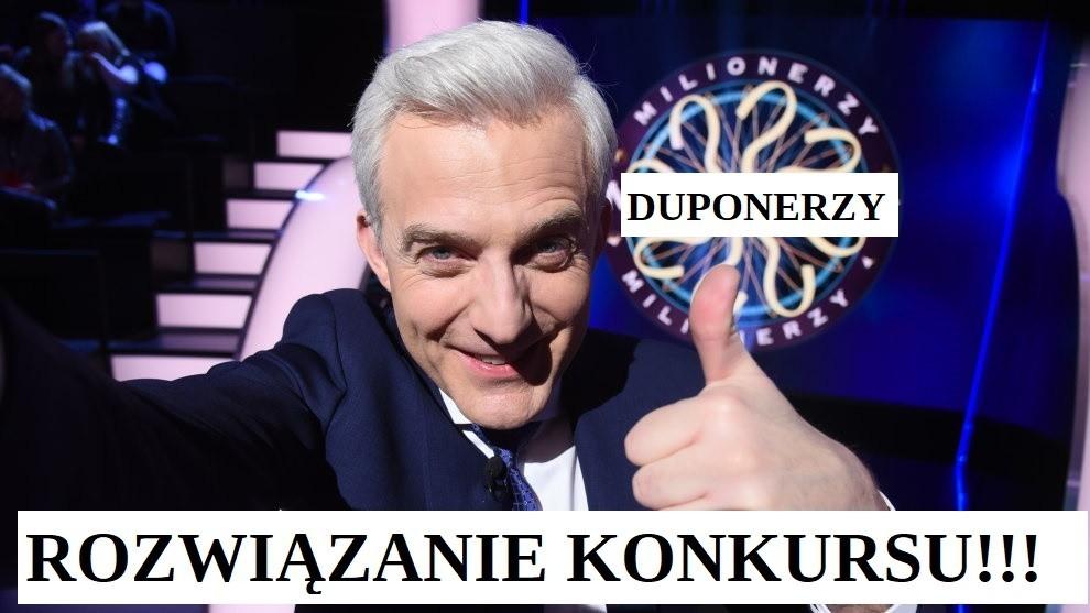 Rozwiązanie konkursu Duponerzy ShowUp.tv !!!!