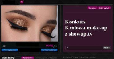 Królowa make-up z ShowUp.tv !!!! - KONKURS