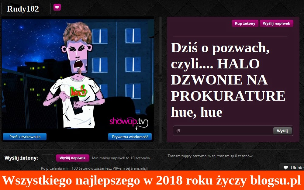 Rudy z Blok Ekipy na ShowUp.tv