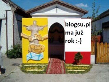 Rok nie wyrok – urodziny BlogSU.pl