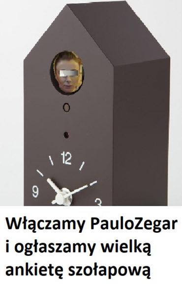 Wielka ankieta na Blogu ShowUp.tv. Włączamy PauloZegar!!!