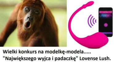 Wybierz najbardziej ekspresyjną modelkę z Lovense Lush na ShowUp.tv!!!